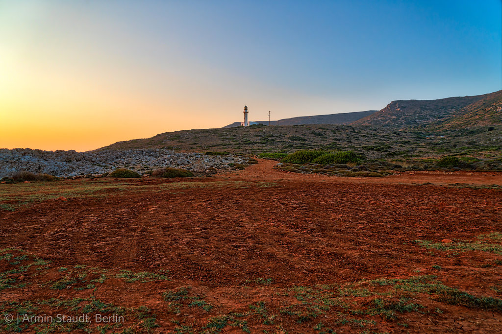 Gerogompos lighthouse, the westernmost point in Greece, Kefalonia