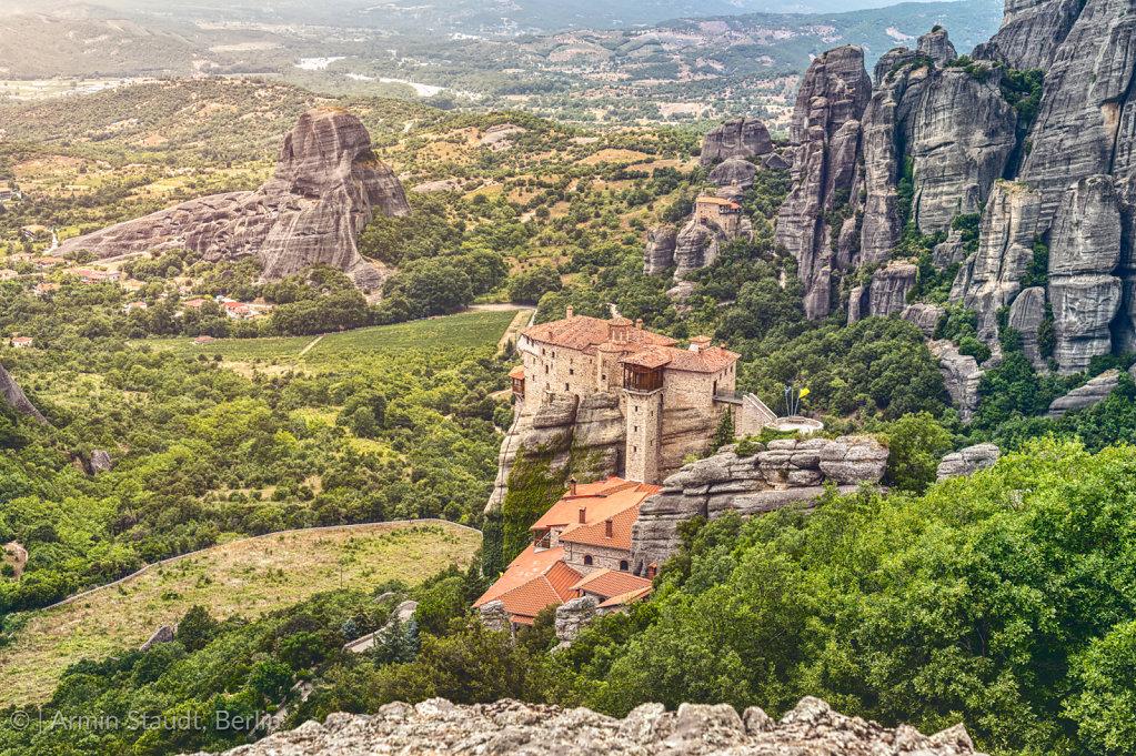 Monastery of St. Nicholas Anapavsa, Greece
